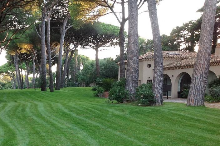 Basso jardins sainte maxime jardinier paysagiste ste for Entretien jardin 94